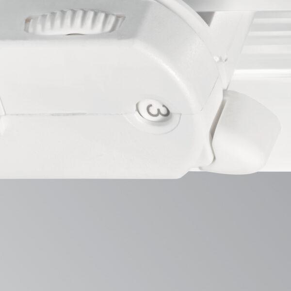 Akcentinis šviestuvas ant bėgio