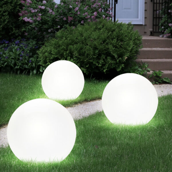 Apvalus LED Lauko sviestuvas