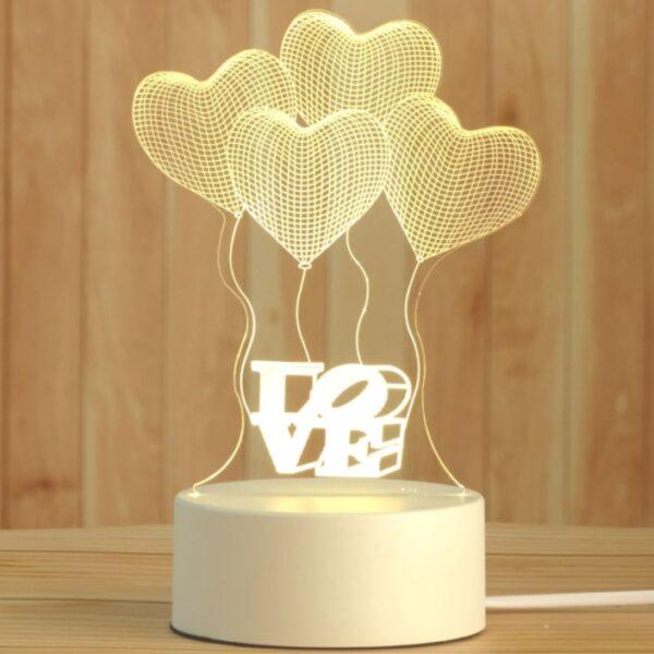 3D Led sviestuvas