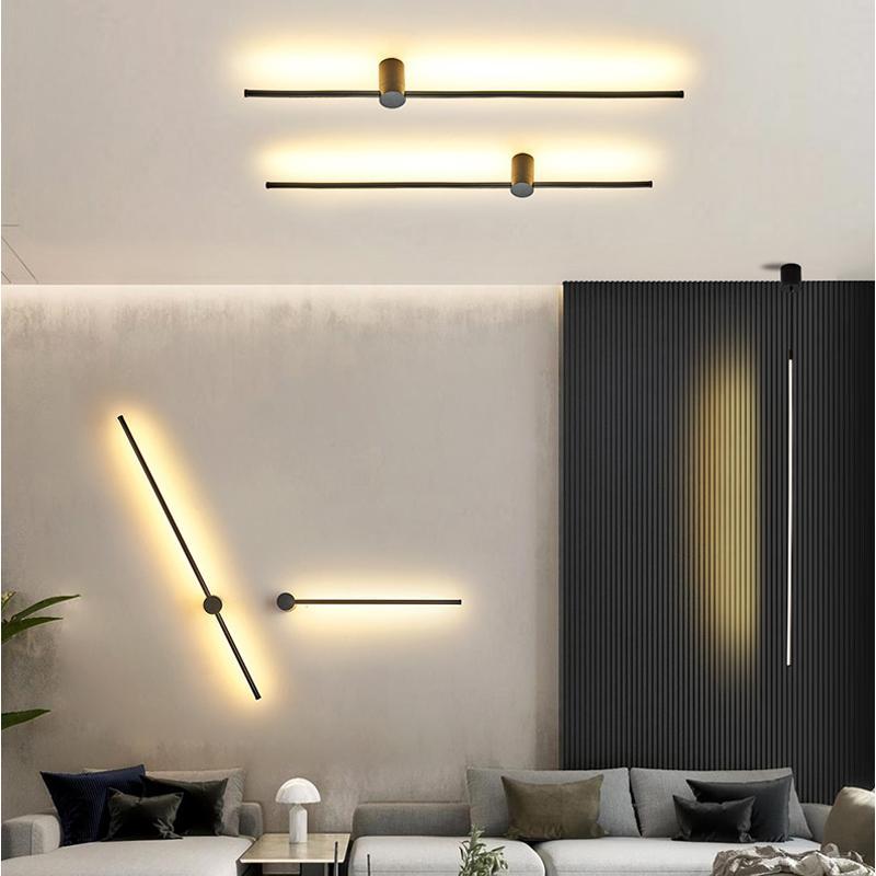 SIeninis modernus LED sviestuvas